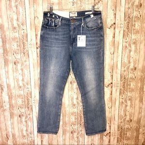 NWT Frame Le high, high rise straight fit jeans 31